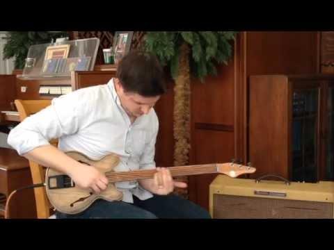 Wunkywerks Terzetto 3 String Guitar