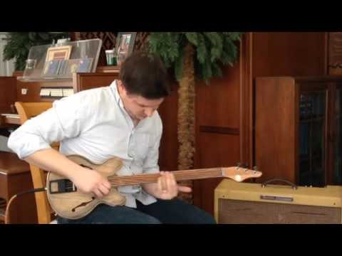 Wunkywerks Terzetto 3 String Guitar