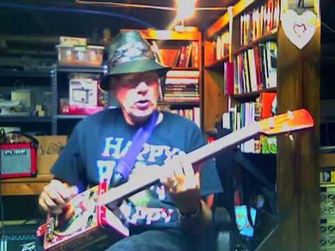 Danny Boy on a Three String Tin Can Guitar