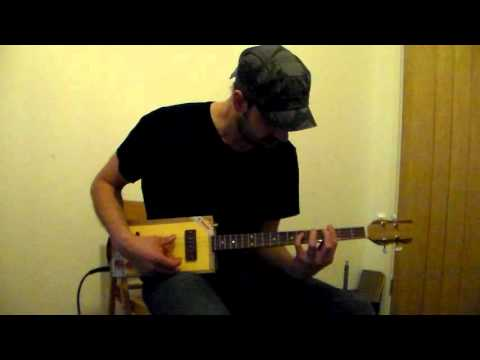 Easy Living (Billie Holiday) Instrumental on 4 string Cigar Box Guitar