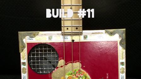 Romeo Y Julieta Reserva Real - 3 String -Cigar Box Guitar-