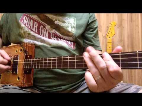 Denton Music Cigar Box Guitars - Flor de la Antillas #6