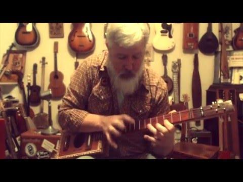 Versatility of the 4 string Cigar Box Guitar
