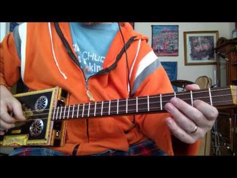 Denton Music Cigar box Instruments  - Black Partagas #115