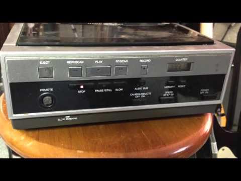VHS Analog Test #1