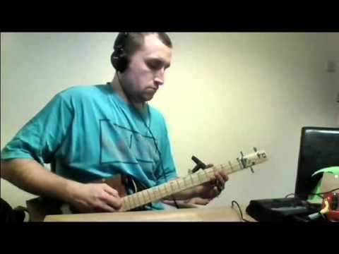 Carl Robert Ashton - Cigar Box Guitar - GYPSY ALLENS BLUES