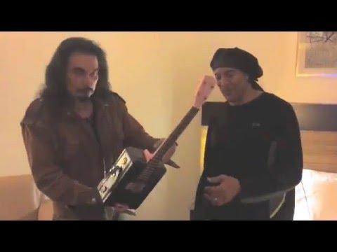 Ukulele Ray Gives Riki Hendrix Lunchbox-A-Lele!