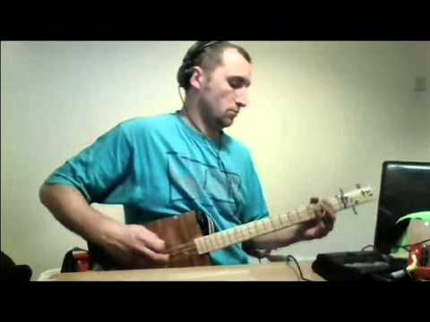 Cigar Box Guitar Cover of The Beatles - DAYTRIPPER