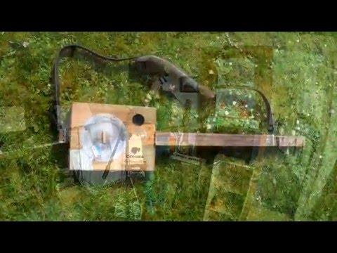 "3 String Fretless Reso Cigar Box Guitar - New Song ""Lay My Hat Down"""