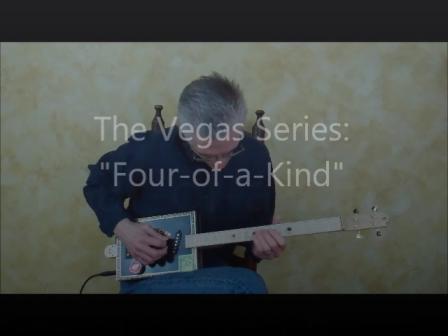 "Rough Cut Guitars ""Four-of-a-Kind"""