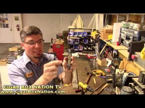 Cigar Box Nation TV (6/14/16) - How to Build an Electric Diddley Bow (1-string Guitar)