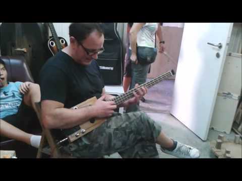 CigarBoxBass - Tapping Test