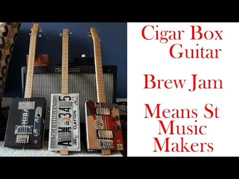 Cigar Box Guitar Means St Music Makers @ Reformation Brewery