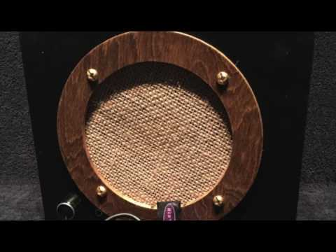 Country Blondie - Cigar Box Amplifier/Speaker by Cigar Box Johnny