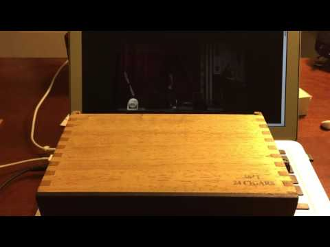 Nub Cameroon 464T Cigar Box Amplifier/Speaker
