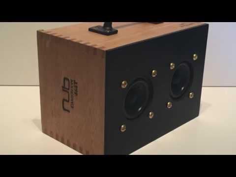 Cigar Box Amplifier & Speaker - Oliva Nub Cameroon 464T