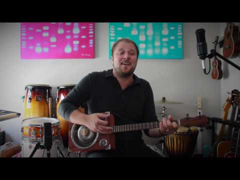 Let A Little Light - Grace Pettis Cover - Played on a dog bowl res made by Alan Matta(hammered fret…