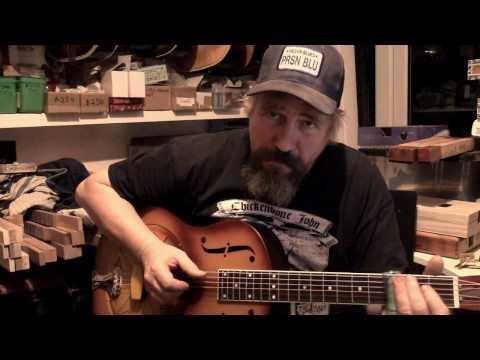 """Zilpha"" resophonic guitars by Chickenbone John"
