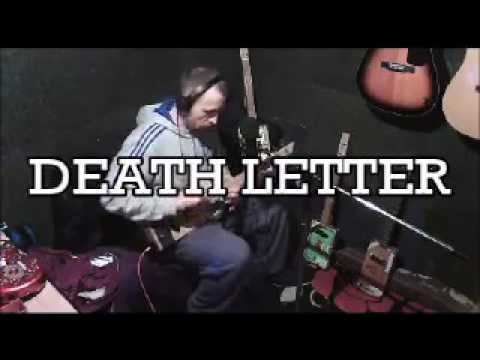 Cigar box guitar - Death Letter - Son House Cover