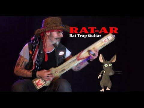 Ratar Rat Trap Guitar 'Swamp Rock Music' Christopher Ameruoso