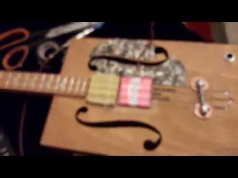 "simple homemade ""flat pup style"" cbg guitar pickup"