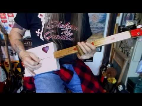 Heart Shaped Box from Skeleton Key Guitars