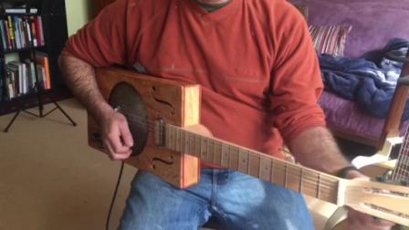 Terra plane box guitar