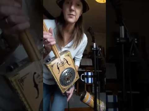 FB Live with Diddley Bow, Canjo, Cigar Box Guitar & Native American Flute
