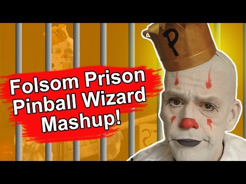 Folsom Prison Blues/Pinball Wizard Mashup - Johnny Cash - The Who - Puddles Pity Party