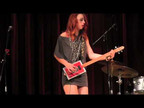 "SAMANTHA FISH BAND  ""Shake 'Em On Down""  3/22/13"