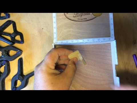 CBG Building Tip:  Brace A Cigar Box with Corner Moulding