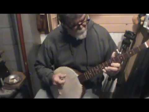 Deep Ellum on Mahogany Tack Head Banjo