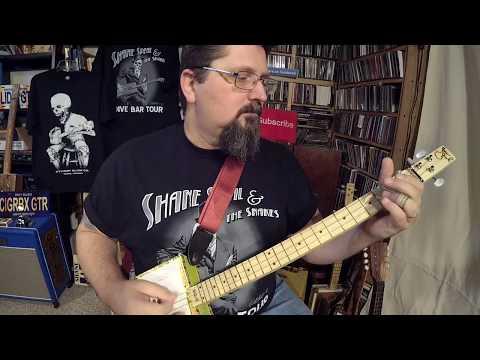 """""""Tasteful Hammer-On Techniques""""  for Slide Cigar Box Guitar - by Shane Speal"""