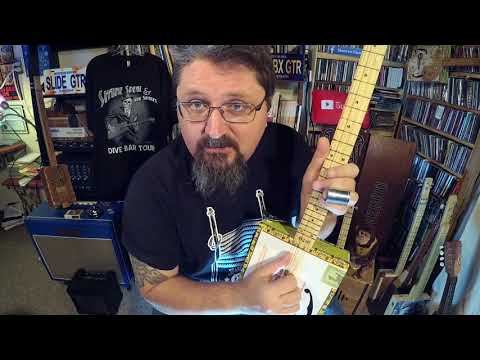 Gnarly Cigar Box Guitar Tuning: 3-string Open E - by Shane Speal
