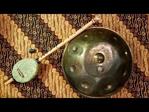 'Opening the Door'  Handpan & CBG Ceramic Body Guitar Music
