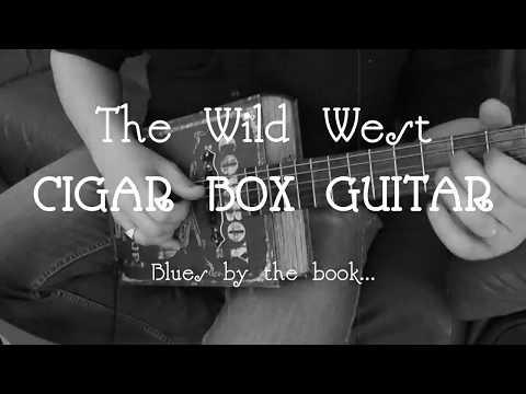 6-string CBG - Blues by the book... Cigar Box Guitar