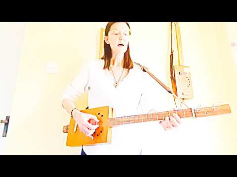 New Song - Existential Blues/Living In The Moment - 3 String Cigar Box Guitar