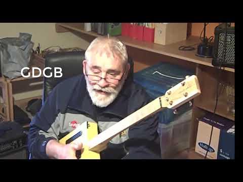 Sammy's new Baritone and Resonator Guitars