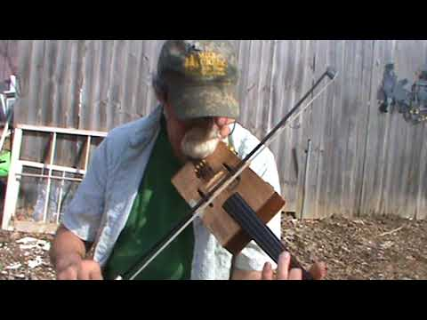 Nail That Catfish To A Tree on Padron Cigar Box Fiddle