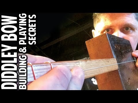 One-String Diddley Bow: Building & Lonnie Pitchford Playing Secrets by Shane Speal
