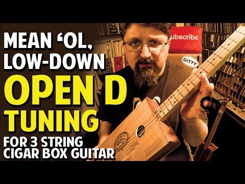 NO RULES!  Open D + Further Adventures in Cigar Box Guitar Tunings