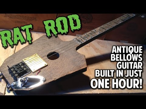 DEMO:  Antique Bellows Rat Rod with Wickedbucker Pickup