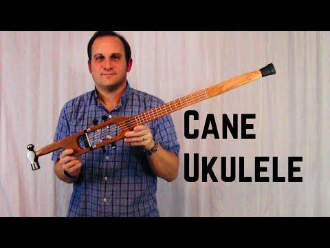 Making a Cane Ukulele