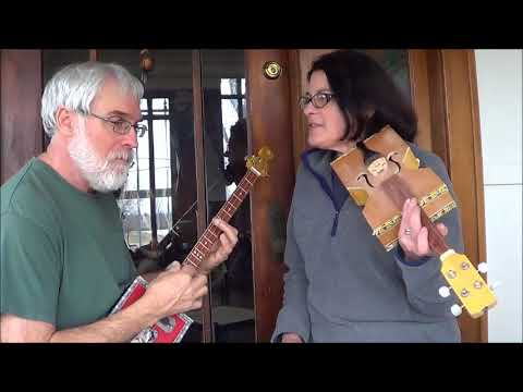 "Cigar Box Fiddle ""Angeline The Baker"""