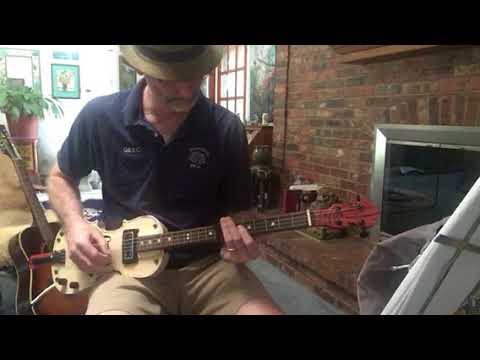4-string fiddle guitar