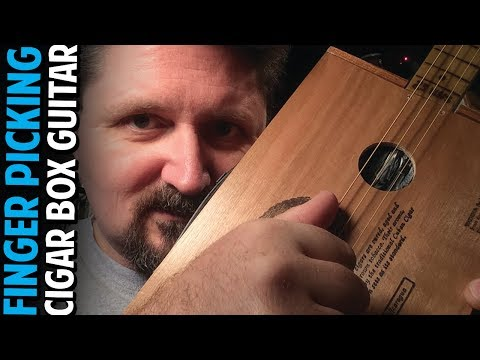 How to Develop a Right Hand Finger-Picking Technique for Cigar Box Guitar