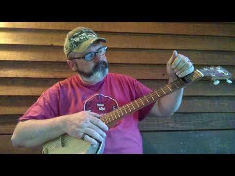 Wood top full length 5th hubcap reso banjo.