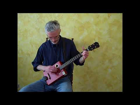 "Rough Cut Guitars 23""-scale Uke-tuned CBG"