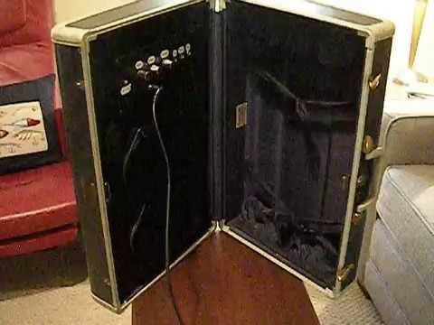 3 Watt  9 Volt Suitcase Amp