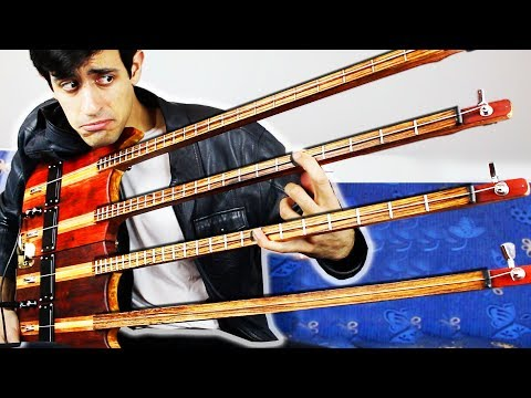 QUADRUPLE NECK BASS SOLO